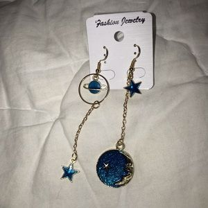 Jewelry - Stars and Planets Earrings